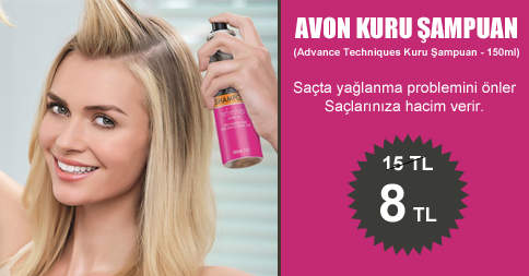 Advance Techniques Kuru Şampuan