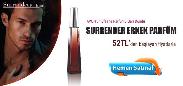 Surrender erkek parfüm