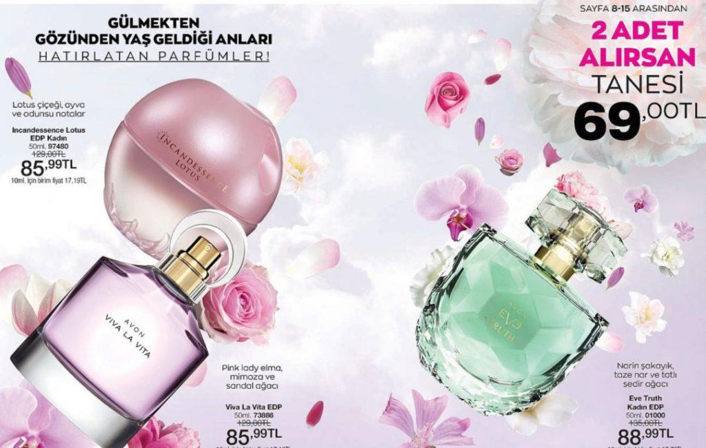 Avon bayan parfüm çeşitleri