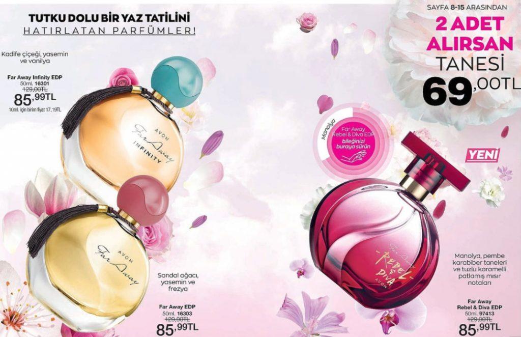 Far  Away parfüm çeşitleri