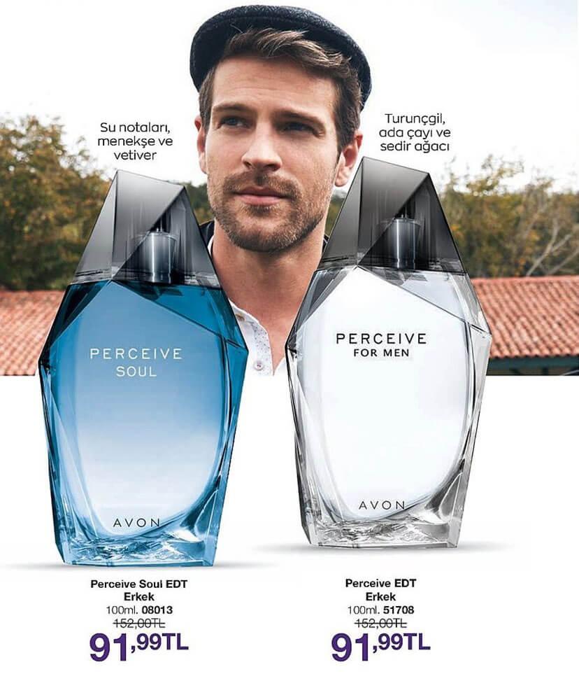 Perceive erkek parfüm çeşitleri